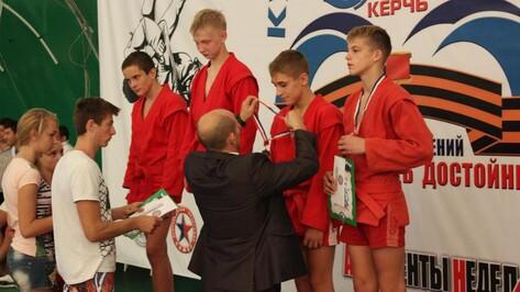 Верхнемамонский спортсмен завоевал третье место на Всероссийском юношеском турнире по самбо