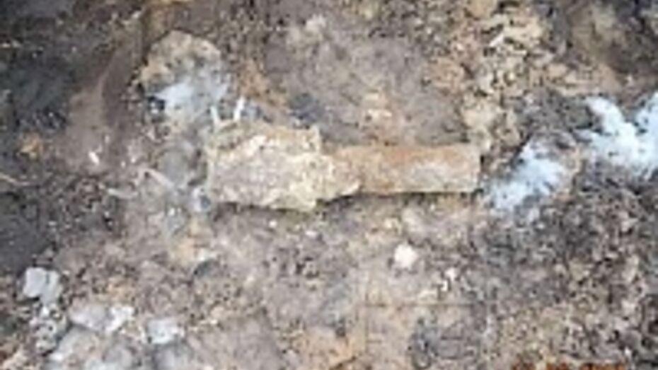 На Ленинском проспекте в Воронеже нашли гранату