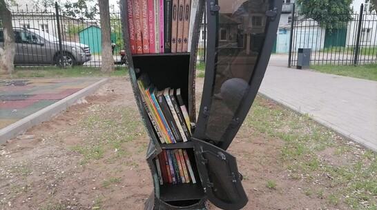 Первую парковую библиотеку открыли в Павловске
