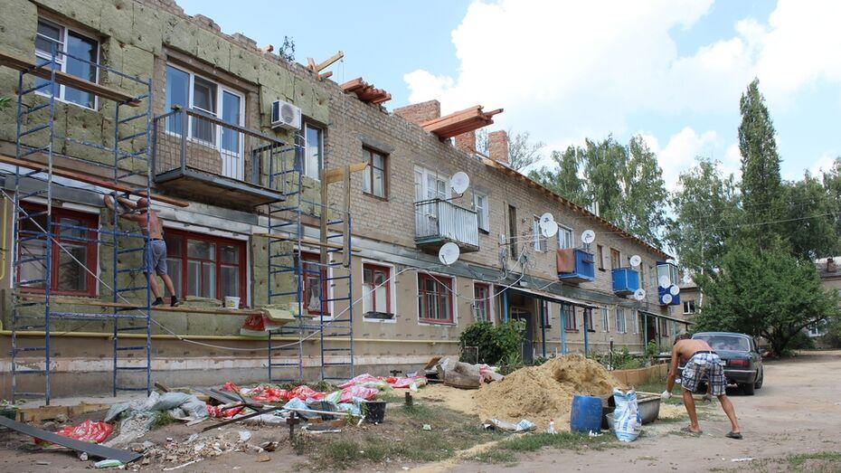 В Ольховатском районе многоквартирный жилой дом остался без крыши