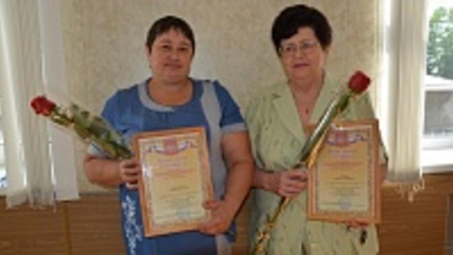 Двое поворинских работников торговли получили областные награды