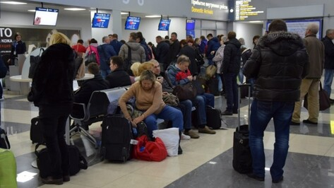 Рейс из Дубая в Воронеж и обратно задержали из-за тумана
