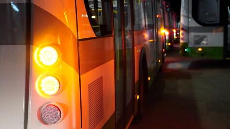 Вторая партия современных автобусов выйдет на дороги Воронежа в кратчайшие сроки