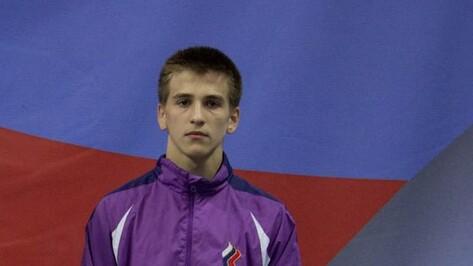 Воронежец стал третьим на всероссийской спартакиаде по вольной борьбе
