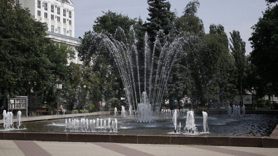 Сезон фонтанов в Воронеже откроют 1 мая
