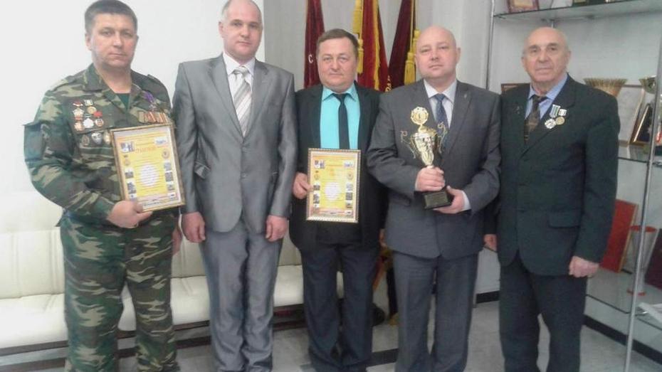 Подгоренские ветераны-пограничники победили в областном смотре-конкурсе