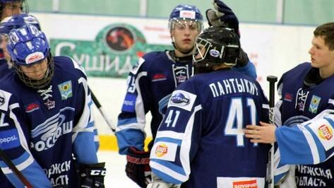 Хоккеисты «Россоши» крупно проиграли в Твери