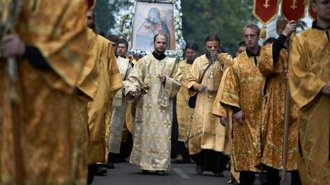 Крестный ход в честь святителя Митрофана начнется в Воронеже 20 августа