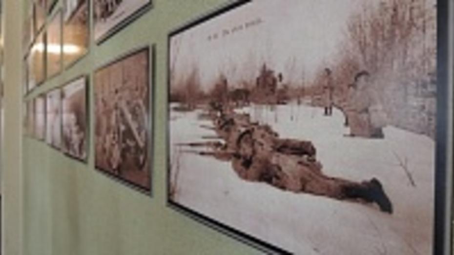 Горожане узнают о роли воронежцев в Первой мировой войне