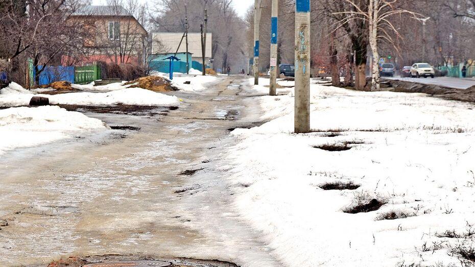 В Семилуках в феврале из-за гололеда пострадал 41 человек