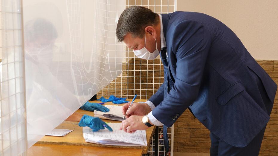 Главы районов Воронежской области напомнили жителям о важности голосования
