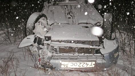 В Таловой водитель перевернувшегося автомобиля скрылся с места ДТП