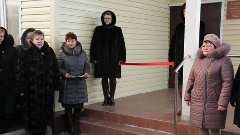 В Аннинском районе открыли новый ФАП