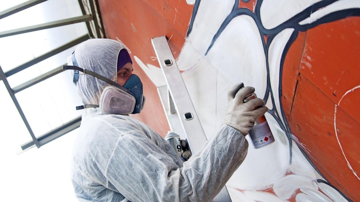 Уличный художник Никита Nomerz: «Главное – согласовать рисунок с самим собой»