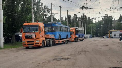 В Воронеж приехали первые троллейбусы из Москвы