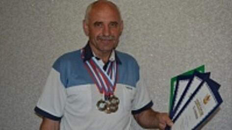 Глава нижнедевицкого поселения стал призером  в четырех  видах спорта на  областном турнире по легкой атлетике