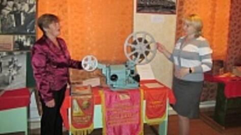 Репьевский музей получил в подарок советскую киноустановку