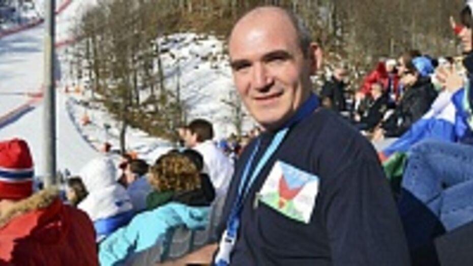 Верхнемамонец провел «олимпийский отпуск» в Сочи