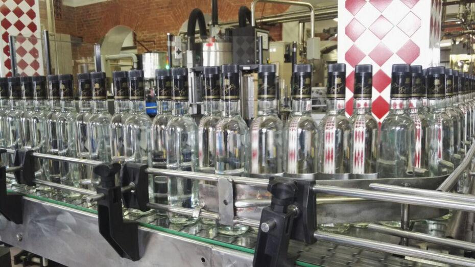 Единственный в регионе ликеро-водочный завод перешел под контроль Воронежской области