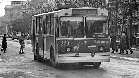 От конки до «ПАЗов»: как эволюционировал транспорт Воронежа. Троллейбус