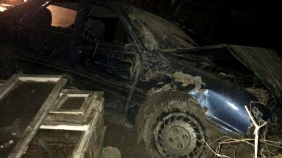 В Воронежской области подростки решили покататься на автомобиле: 1 погибший