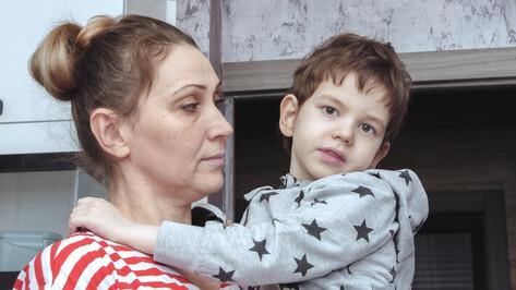 «Надеемся, приступы уйдут». Пятилетний воронежец Саша Чирков страдает от эпилепсии
