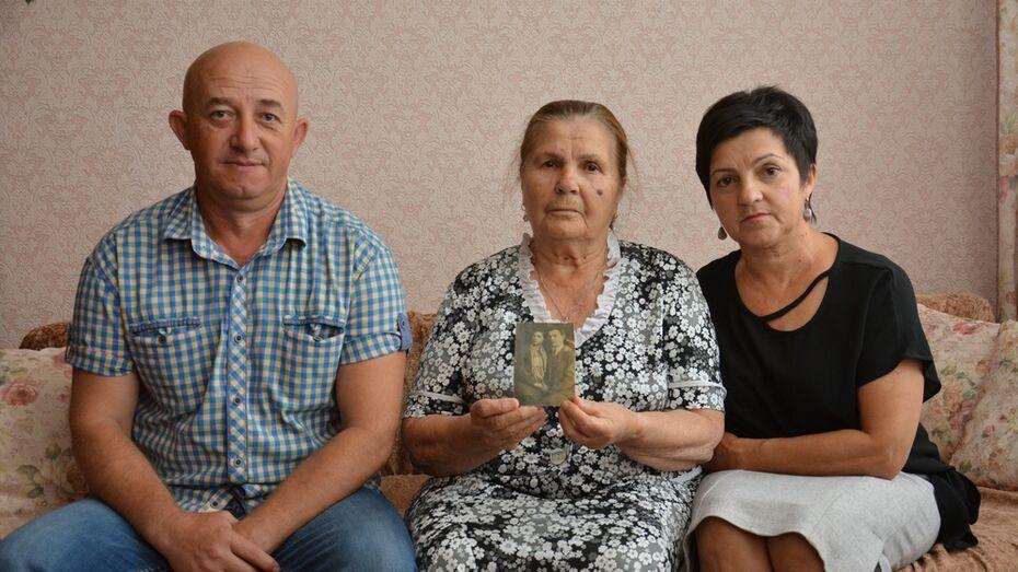 В Острогожске нашли дочь погибшего под Смоленском красноармейца