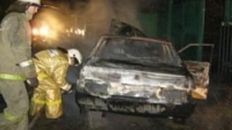 В Нововоронеже сгорел «ВАЗ»