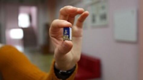 Самая маленькая книга в Воронеже имеет формат 1,5 на 2 сантиметра