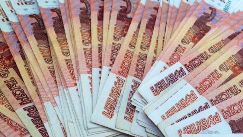 Жители Воронежской области задолжали банкам почти половину от годовой зарплаты
