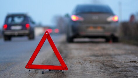 В Воронежской области столкнулись два автомобиля: водители погибли
