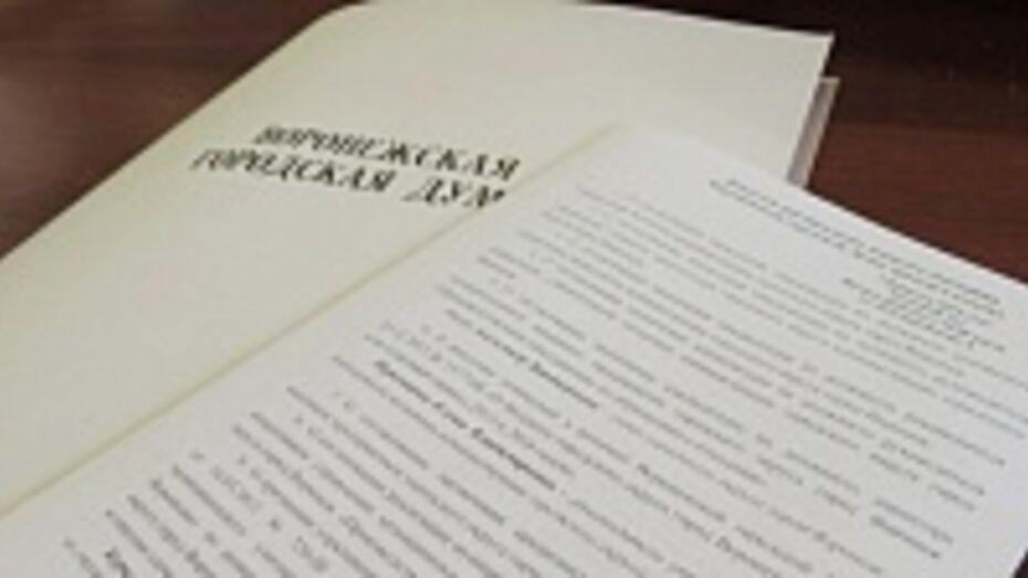 Гордума внесла в бюджет Воронежа на 2014 год первую корректировку