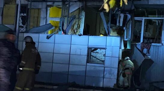 В Воронежской области произошел взрыв в ТЦ в Павловске