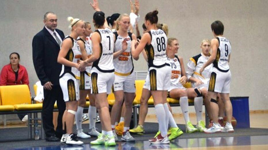 Баскетбольный клуб «Воронеж-СКИФ» продлил свою победную серию