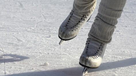 Воронежцы бесплатно покатаются на коньках во дворце спорта «Юбилейный»