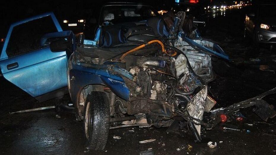 В Острогожском районе в ДТП получили травмы водители двух автомобилей