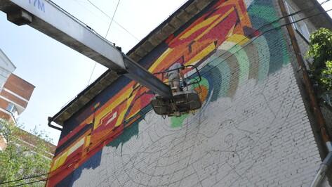 В Воронеже известного уличного художника старушки приняли за сатану