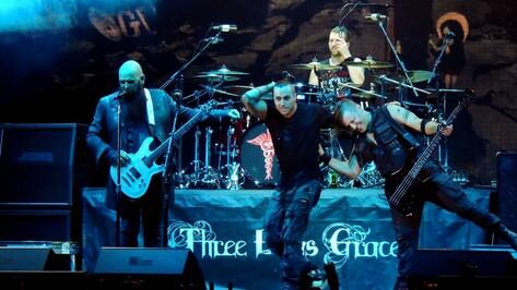 Воронежцы получили шанс попасть на концерт Three Days Grace для одного зрителя