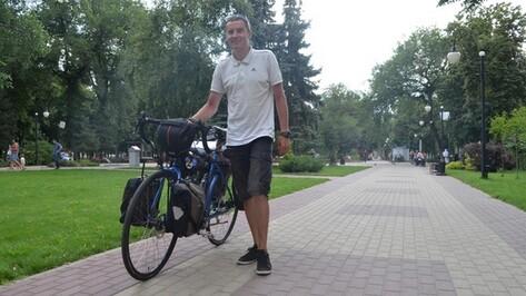 Тюменец на велосипеде доехал до Воронежа за 40 дней