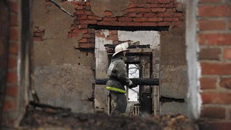 Представитель МЧС: у постояльцев воронежского интерната могли быть спички и зажигалки