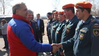 Министр МЧС назвал образцовой добровольную пожарную команду из Воронежской области