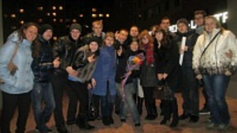 Воронежские поклонники Тарьи Турунен встретили свою любимицу салютом
