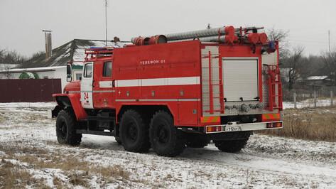 В Железнодорожном районе Воронежа на пожаре погиб 33-летний мужчина