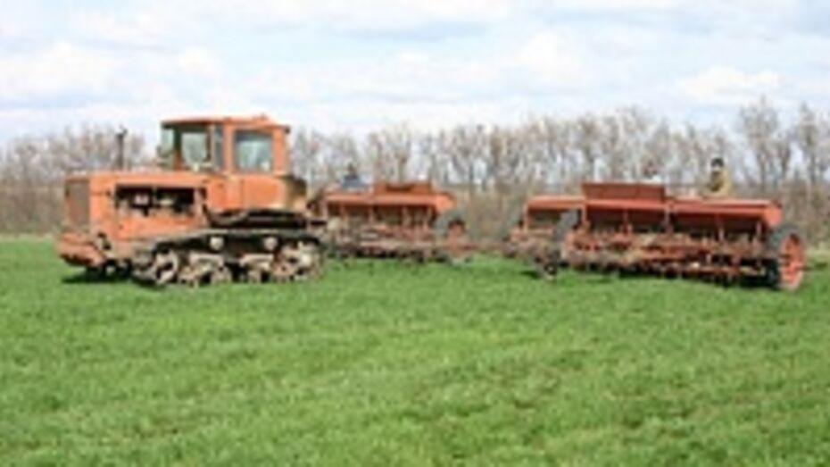 Богучарцы первыми в области приступили к весенним полевым работам