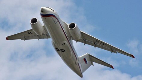 Воронежские Ан-148 передали военно-транспортной авиации ЗВО в Ленинградской области