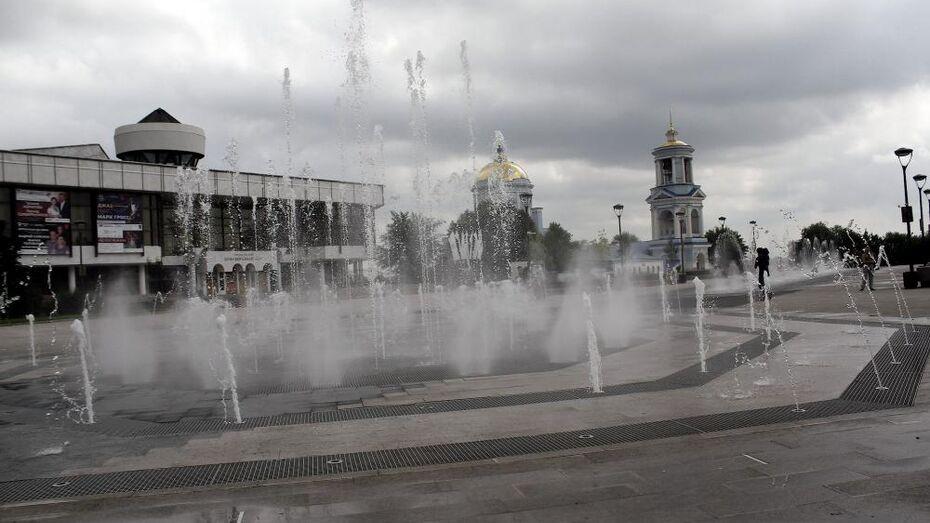 Воронежские фонтаны завершат работу 14 октября
