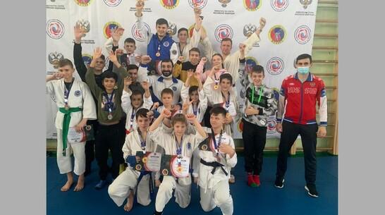 Верхнехавские каратисты привезли с чемпионата ЦФО в Орле 2 «золота»