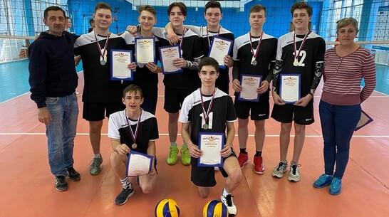 Павловские волейболисты выиграли «серебро» областной спартакиады учащихся