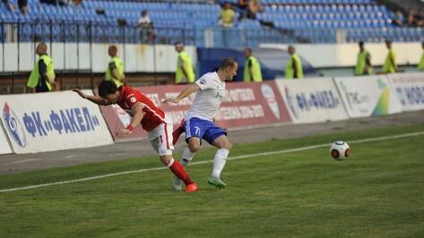 «Факел» разделил очки со «Спартаком-2» в Воронеже