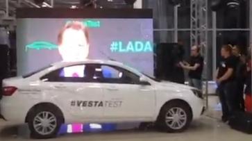В Воронеже стартовали продажи Lada Vesta